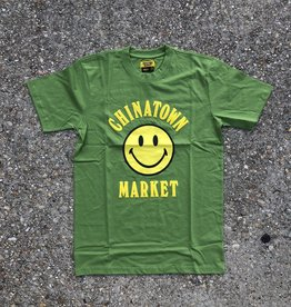 Chinatown Market Smiley tee olive