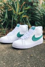 Nike SB Blazer Mid white green