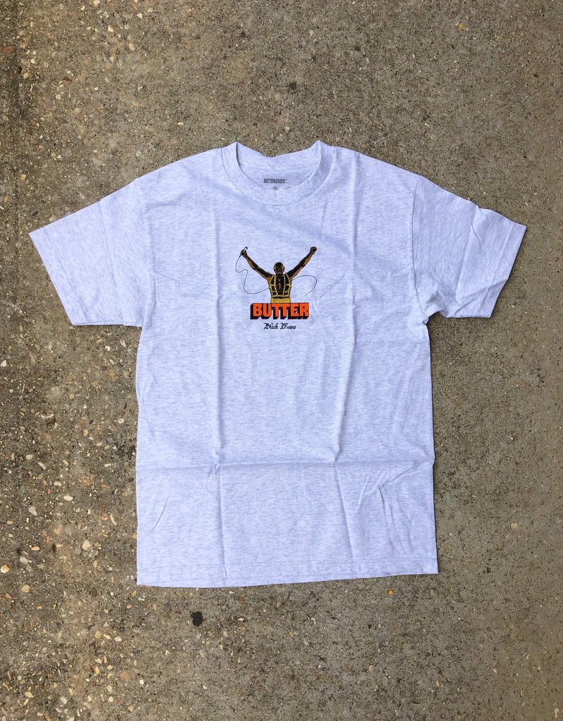 Butter Goods Black Moses Tee ash grey