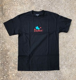 Butter Goods Mineral Classic Logo Tee Black