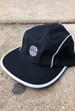 Butter Goods Piping Camp Cap Black