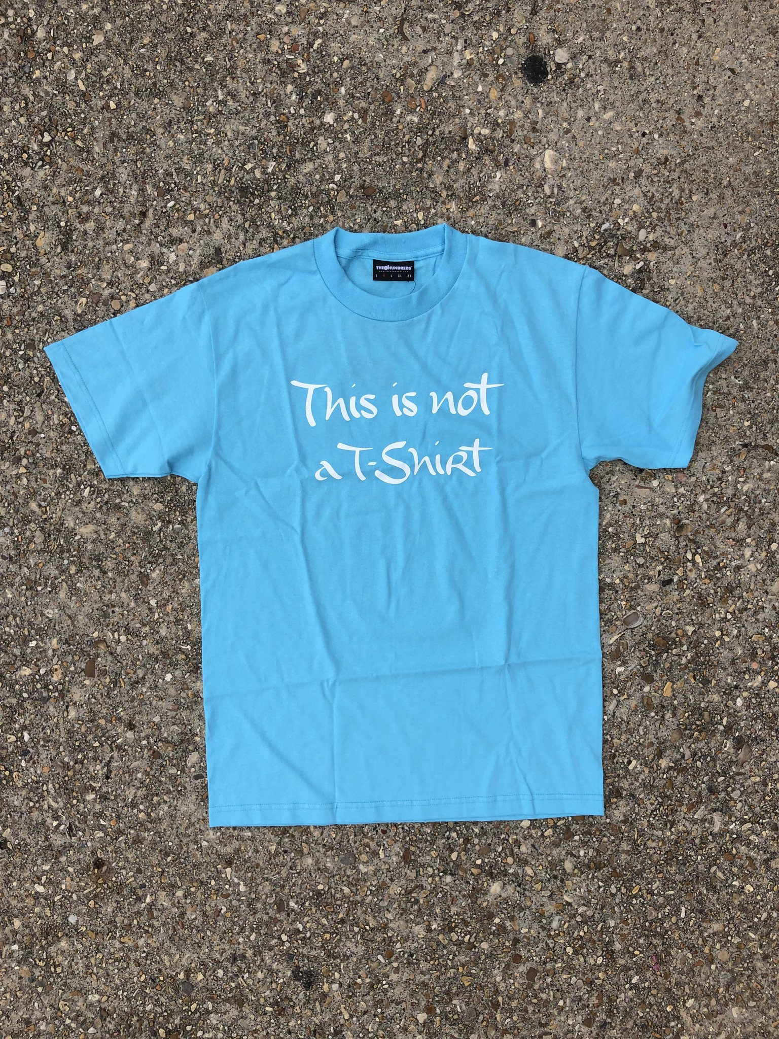 "The Hundreds ""This is Not A T-Shirt"" blue"