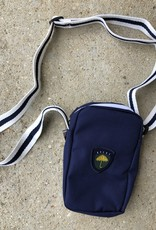 Helas Fan Neck Bag navy