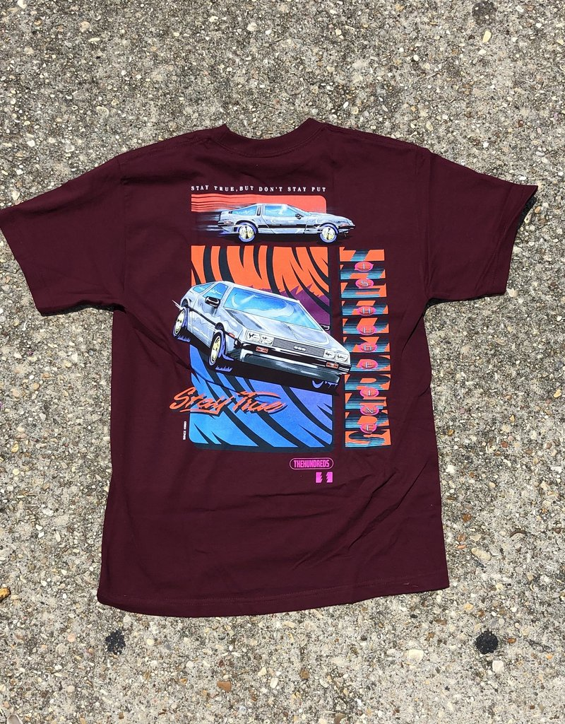 The Hundreds Speed Adam T-Shirt burgundy