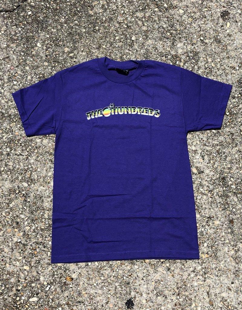 The Hundreds Beholden Bar T-Shirt purple