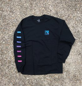 The Quiet Life Data Long Sleeve T Black
