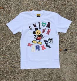 Chinatown Market Patch Work T-Shirt White