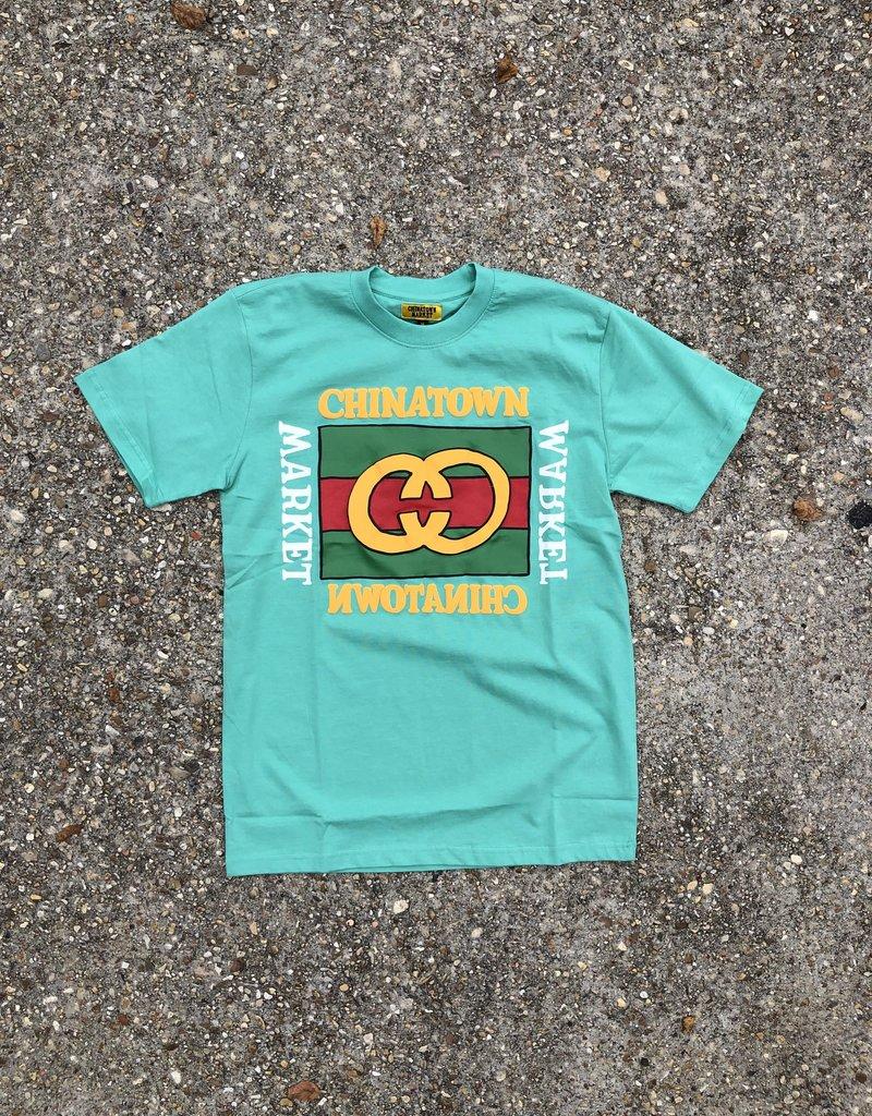 Chinatown Market Designer T-Shirt Sea Foam