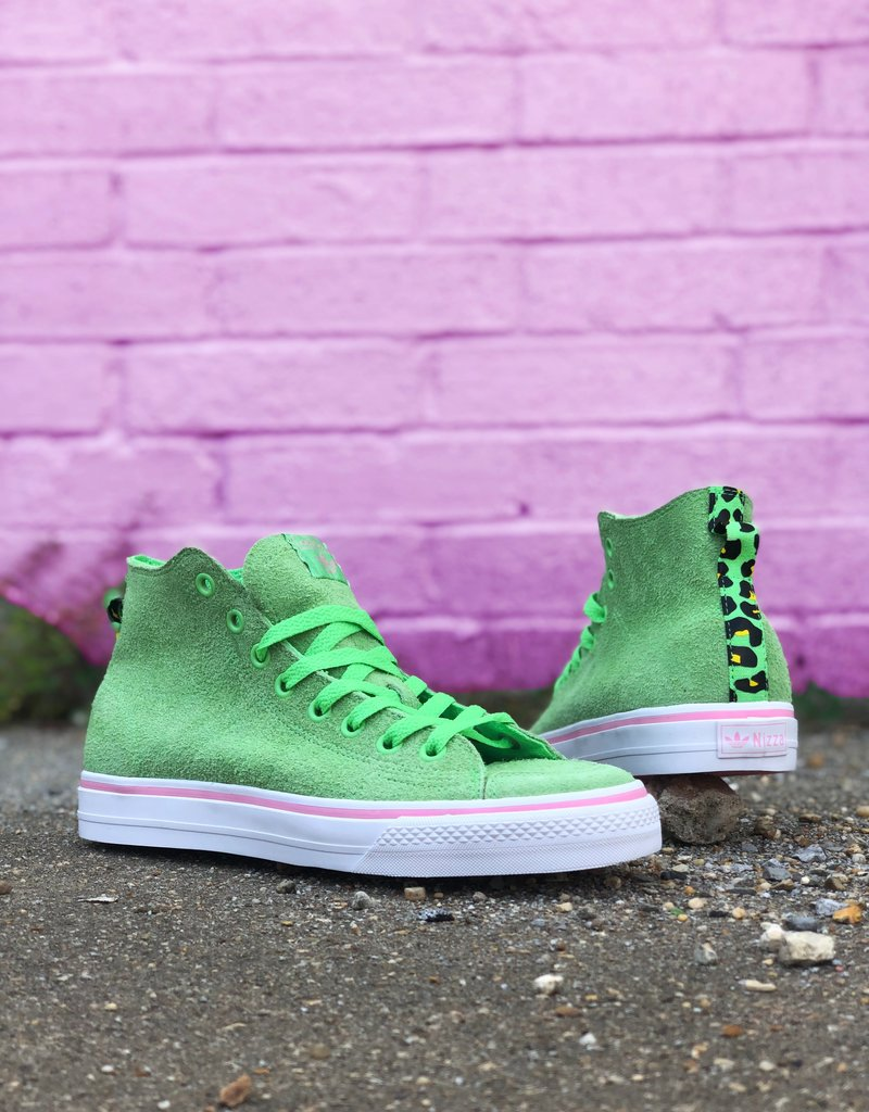 adidas Na-Kel Nizza HI RFS Green/ Light Pink