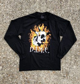 Dime Fire Goat Long Sleeve Tee