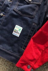 The Hundreds Dawes Trucker Jacket Navy