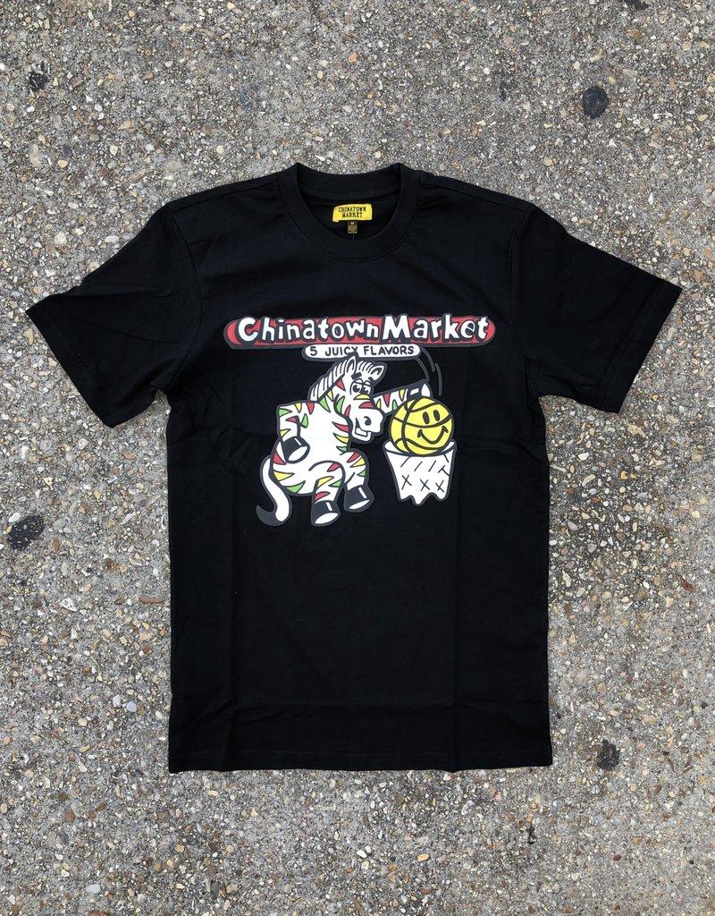 Chinatown Market Juicy T-Shirt Black