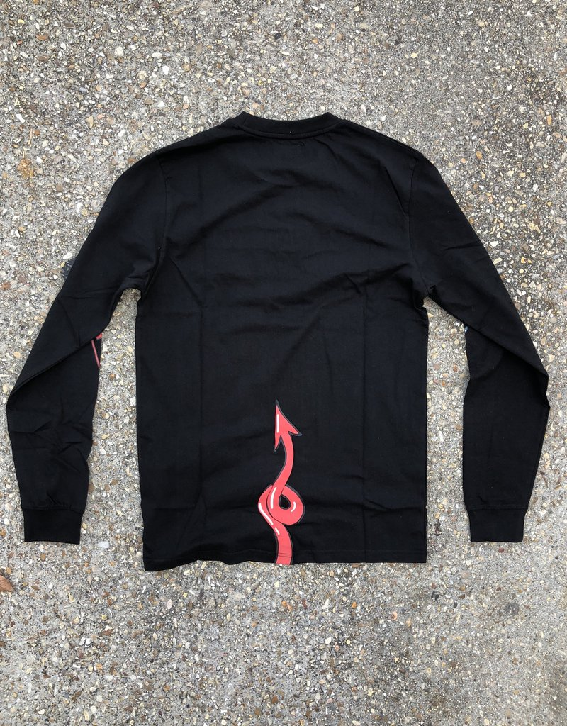 Chinatown Market Angel Devil Longsleeve Black