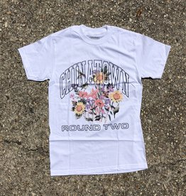 Chinatown Market x Round Two UV Flower T-Shirt White