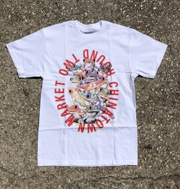 Chinatown Market x Round Two UV Frog T-Shirt White