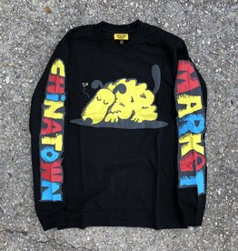 Chinatown Market Sleeping Dog Long Sleeve Black