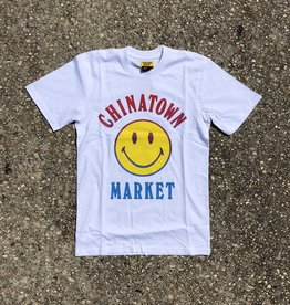 Chinatown Market Smiley Logo T-Shirt White