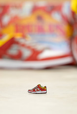 "Rukus ""Crawfish"" Dunk pin and sticker pack"