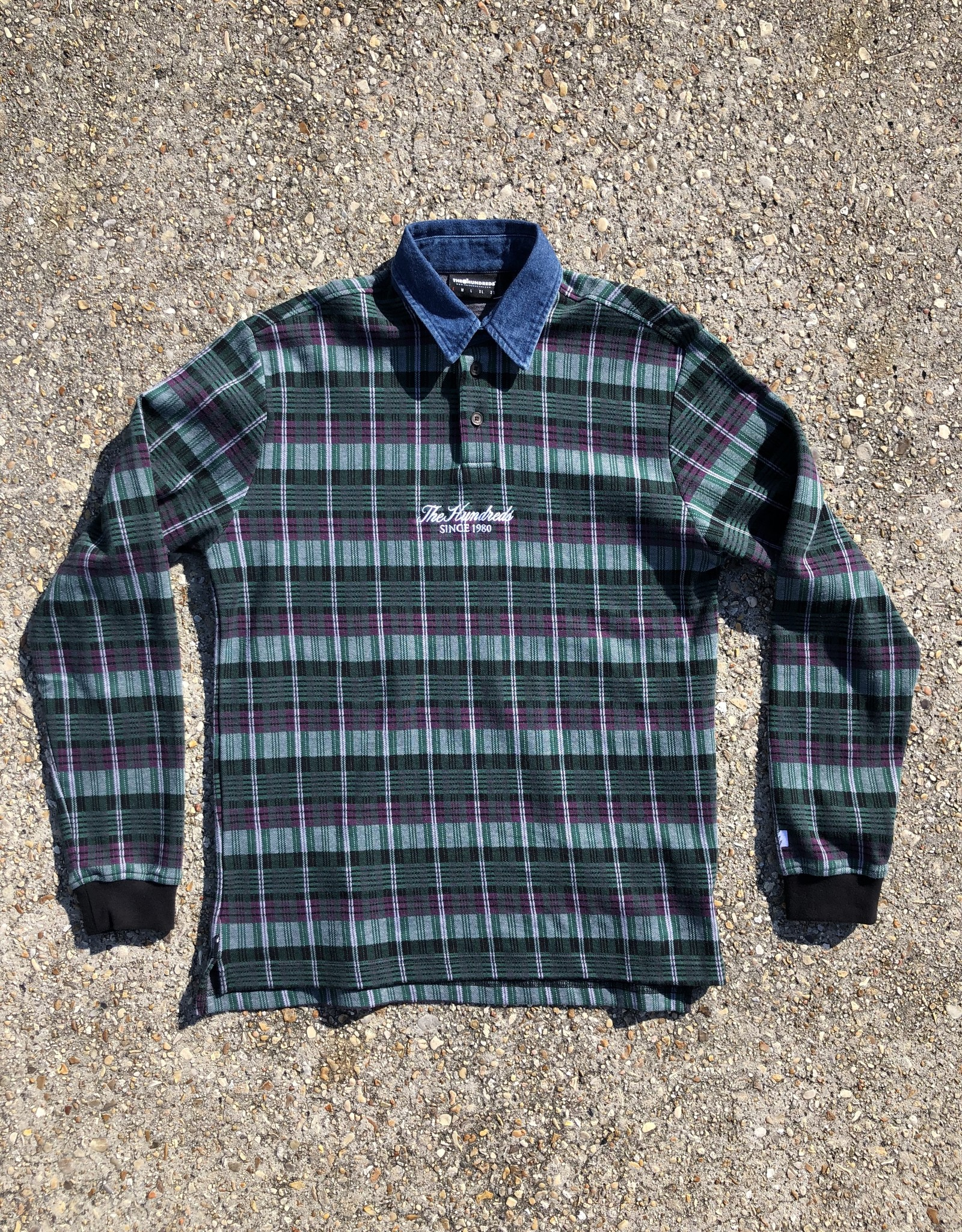 The Hundreds Gleason LS Polo
