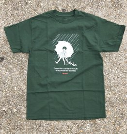 Butter Goods Rain Tee forest green