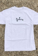 Butter Goods Fly Classic Logo Tee ash grey