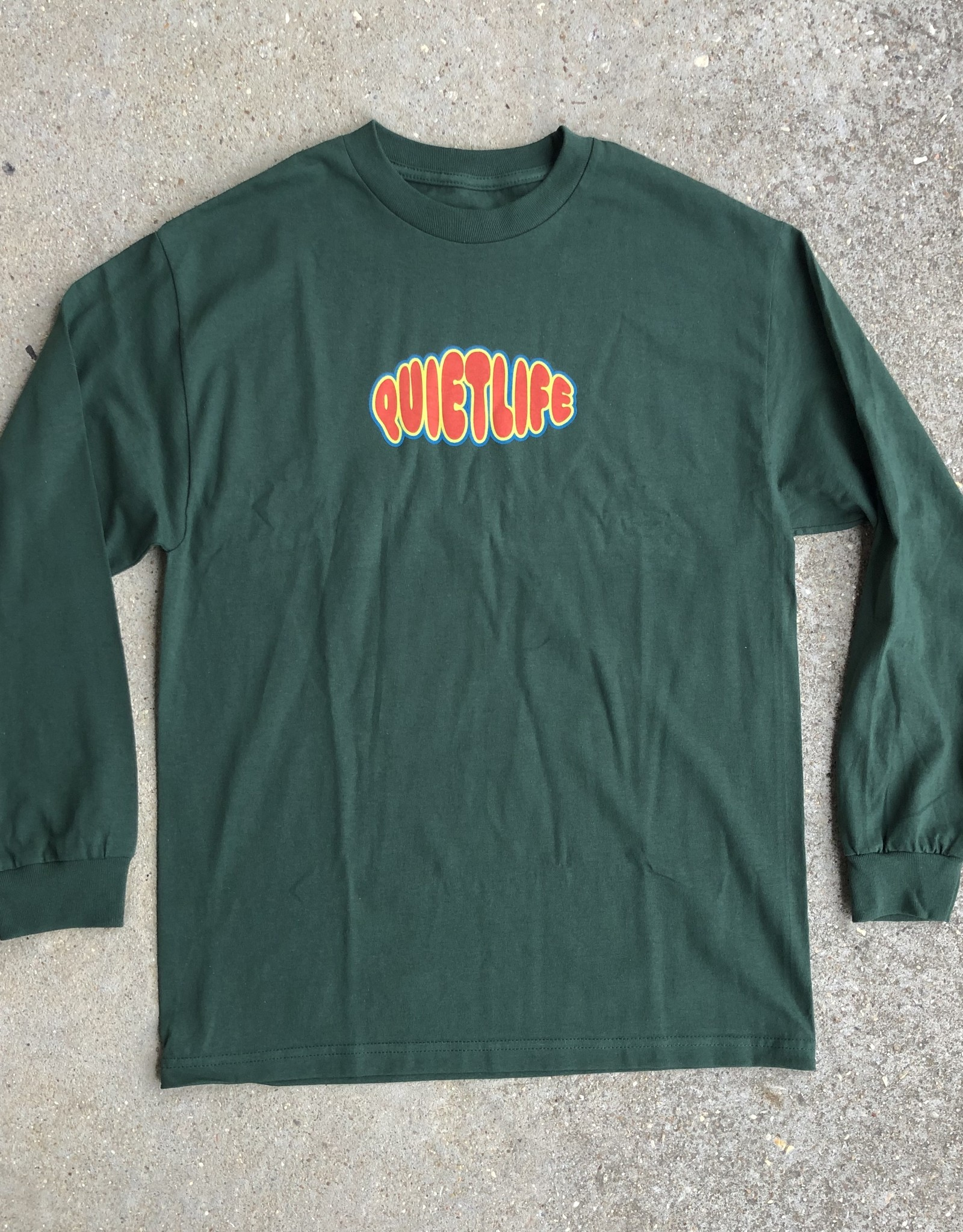 The Quiet Life Bubble Long Sleeve Hunter Green