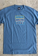 The Quiet Life Peace Block Tee slate