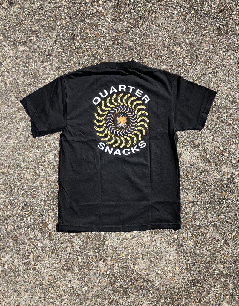 Spitfire x Quarter Snacks 'Quarter Classic' S/S black