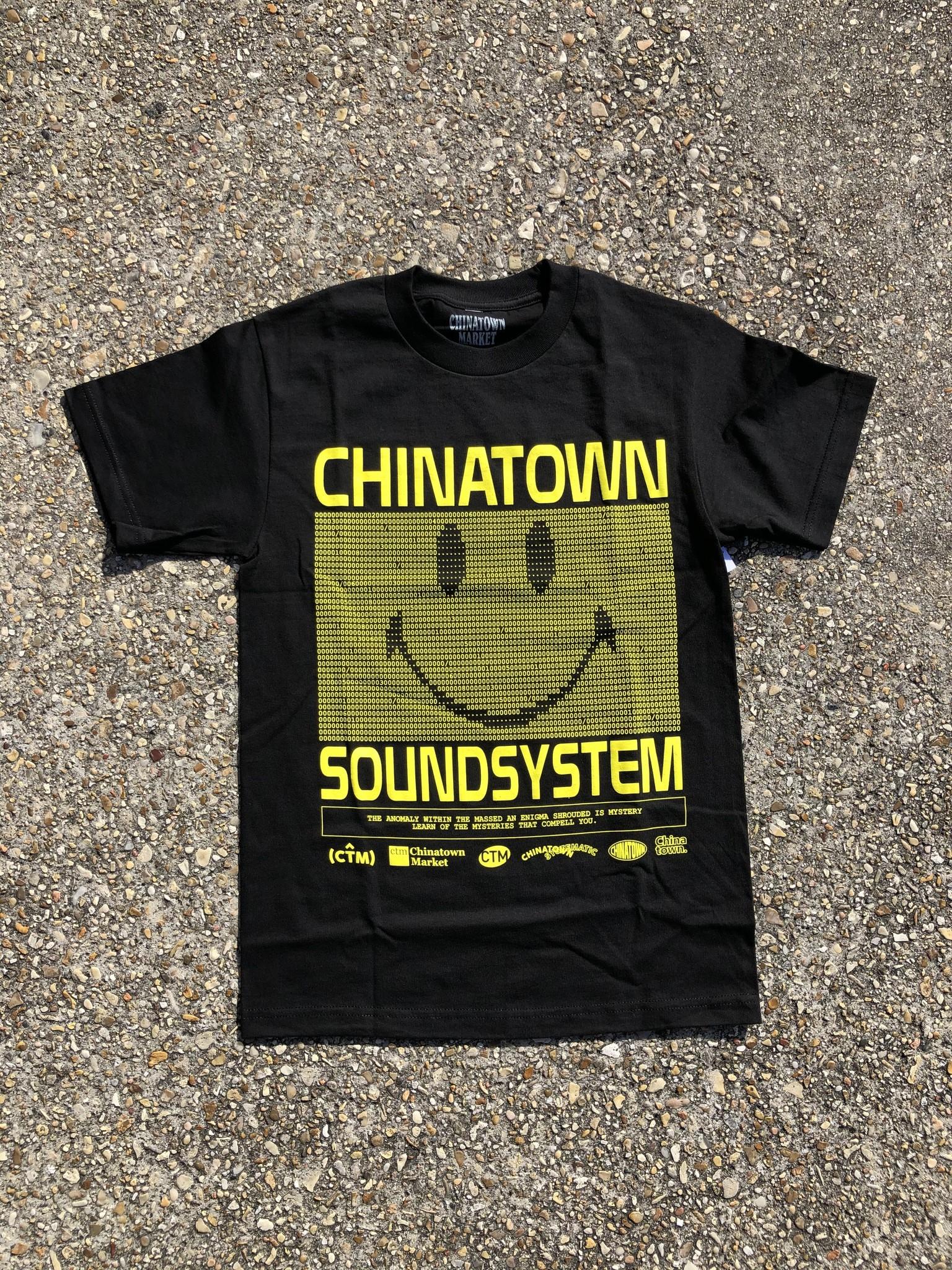 Chinatown Market Sound System Tee Black