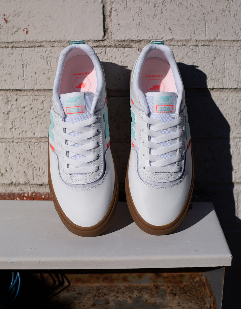 New Balance 306 by Jamie Foy white gum
