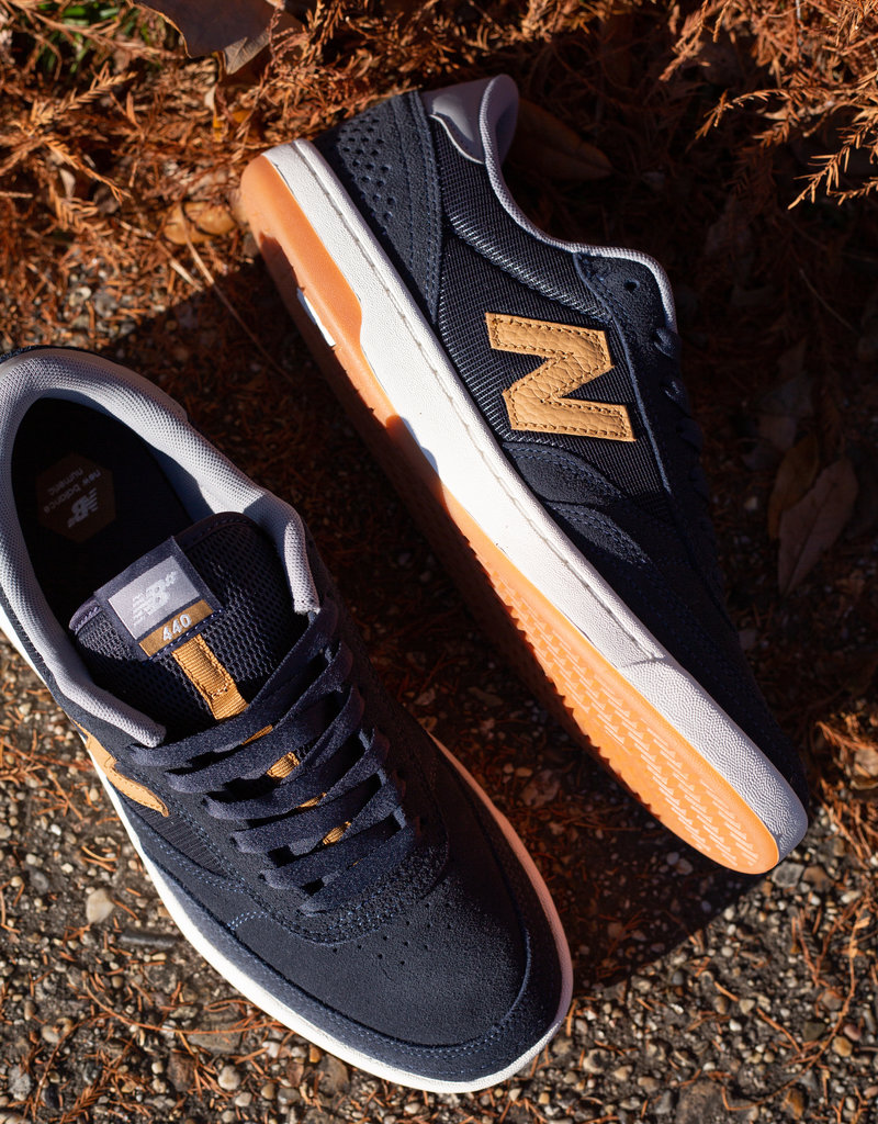 New Balance 440 navy brown