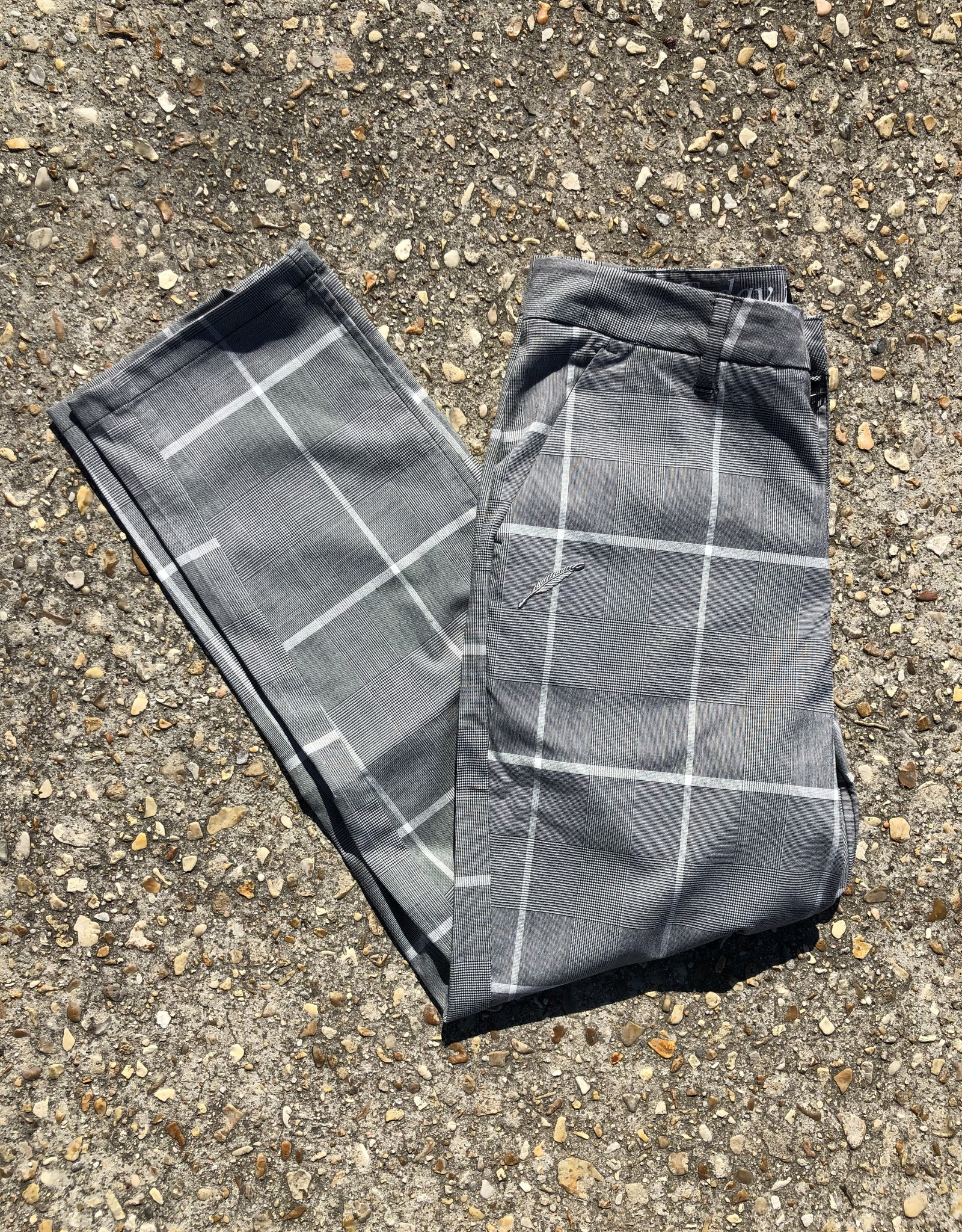 Publish Brand HIM Pants Grey/White