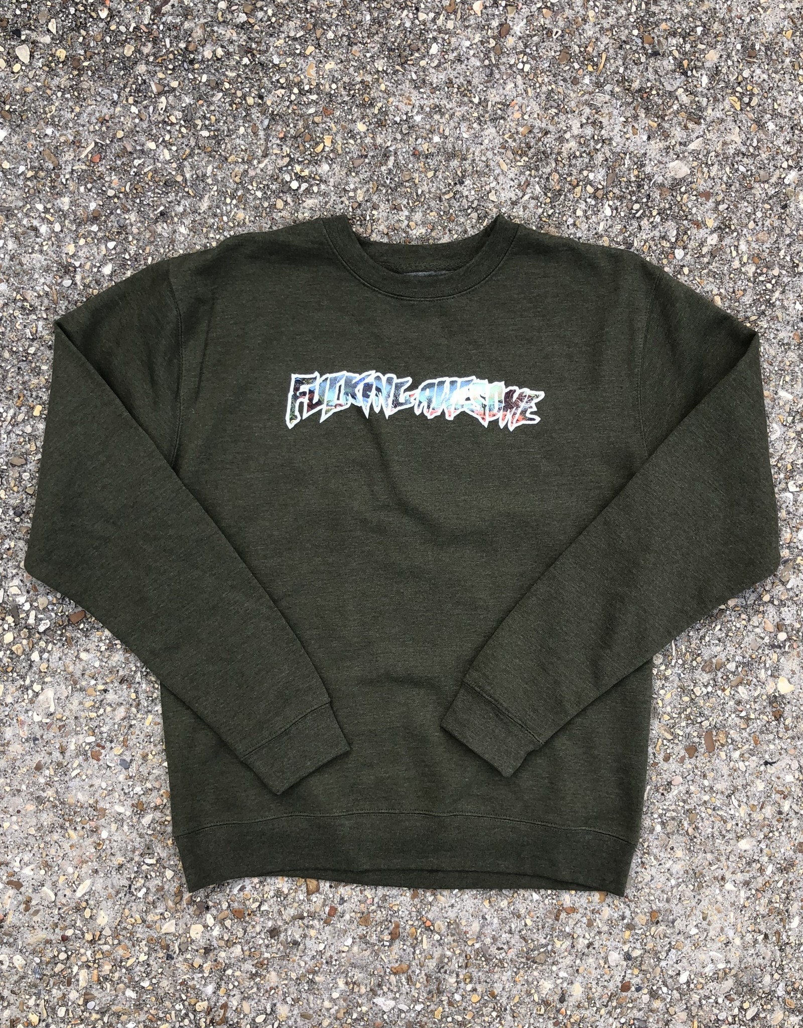 Fucking Awesome Extinction Crewneck