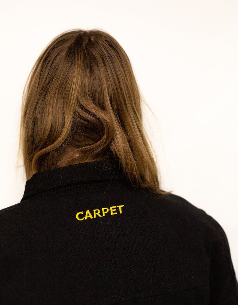 Carpet Company Korean Work Jacket Black