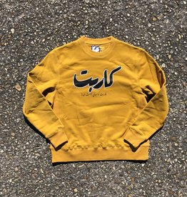 Carpet Company Ankh Crewneck Mustard Yellow