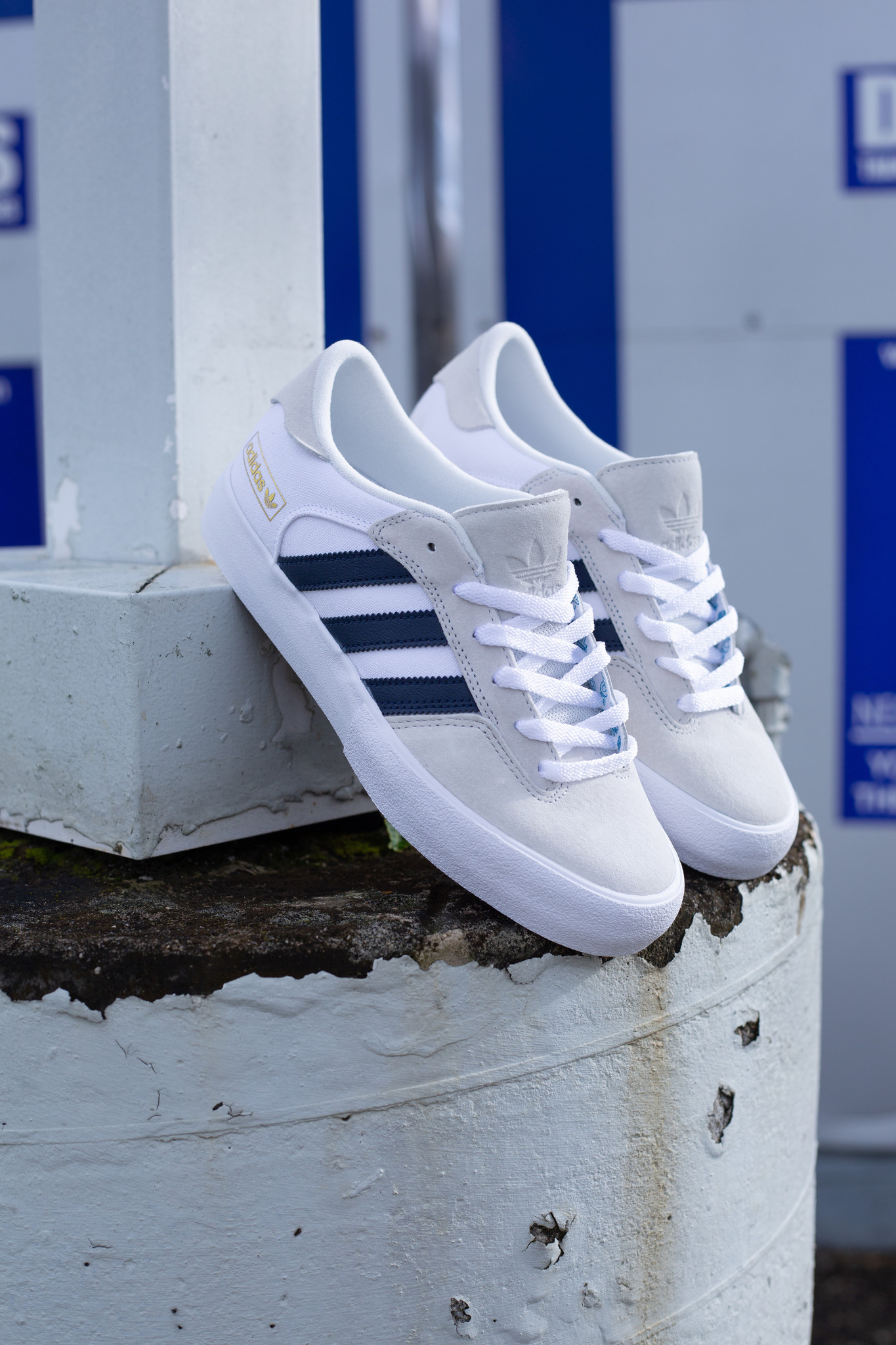 adidas Matchbreak Super white/navy