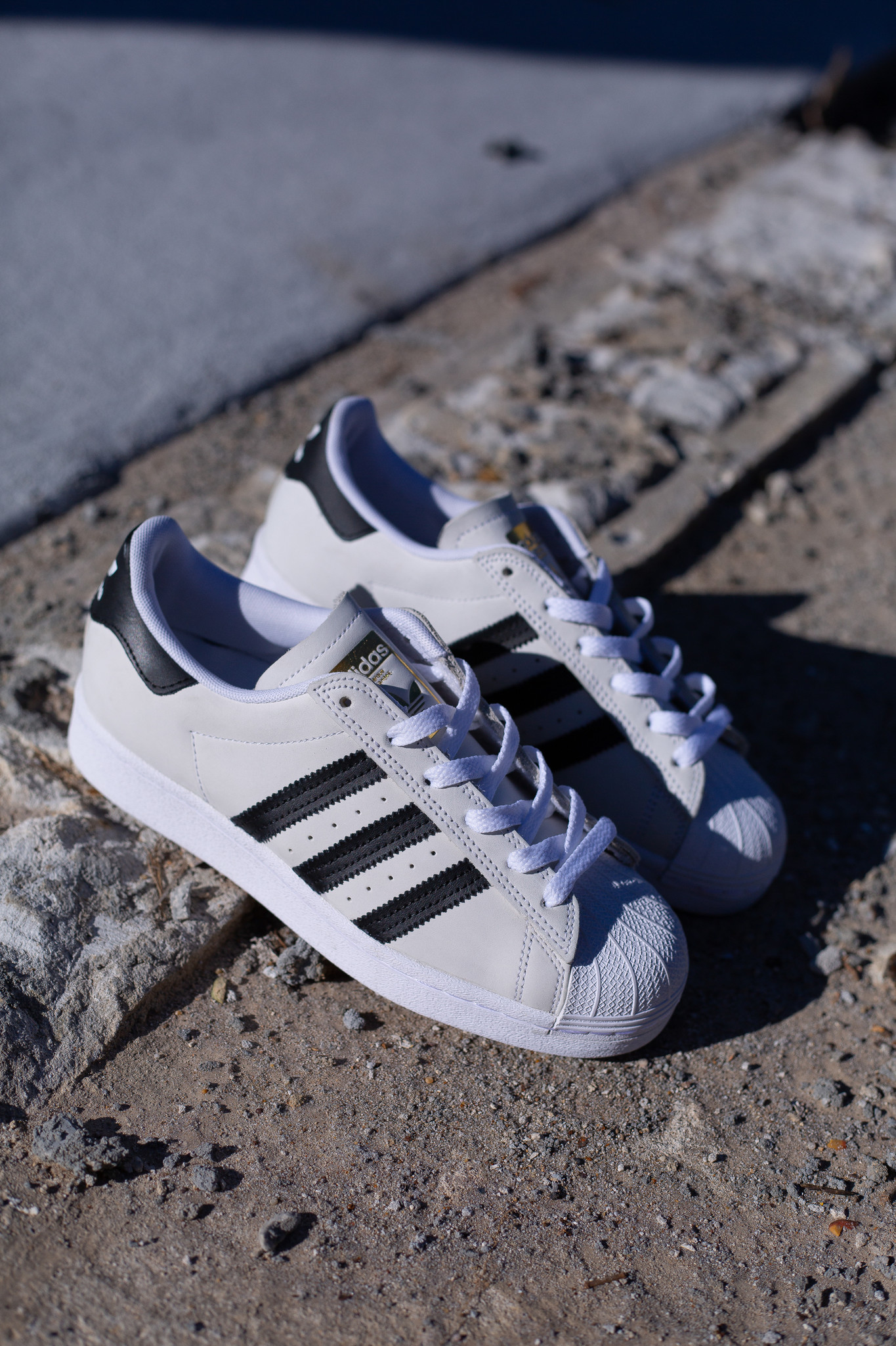 adidas Superstar ADV white black