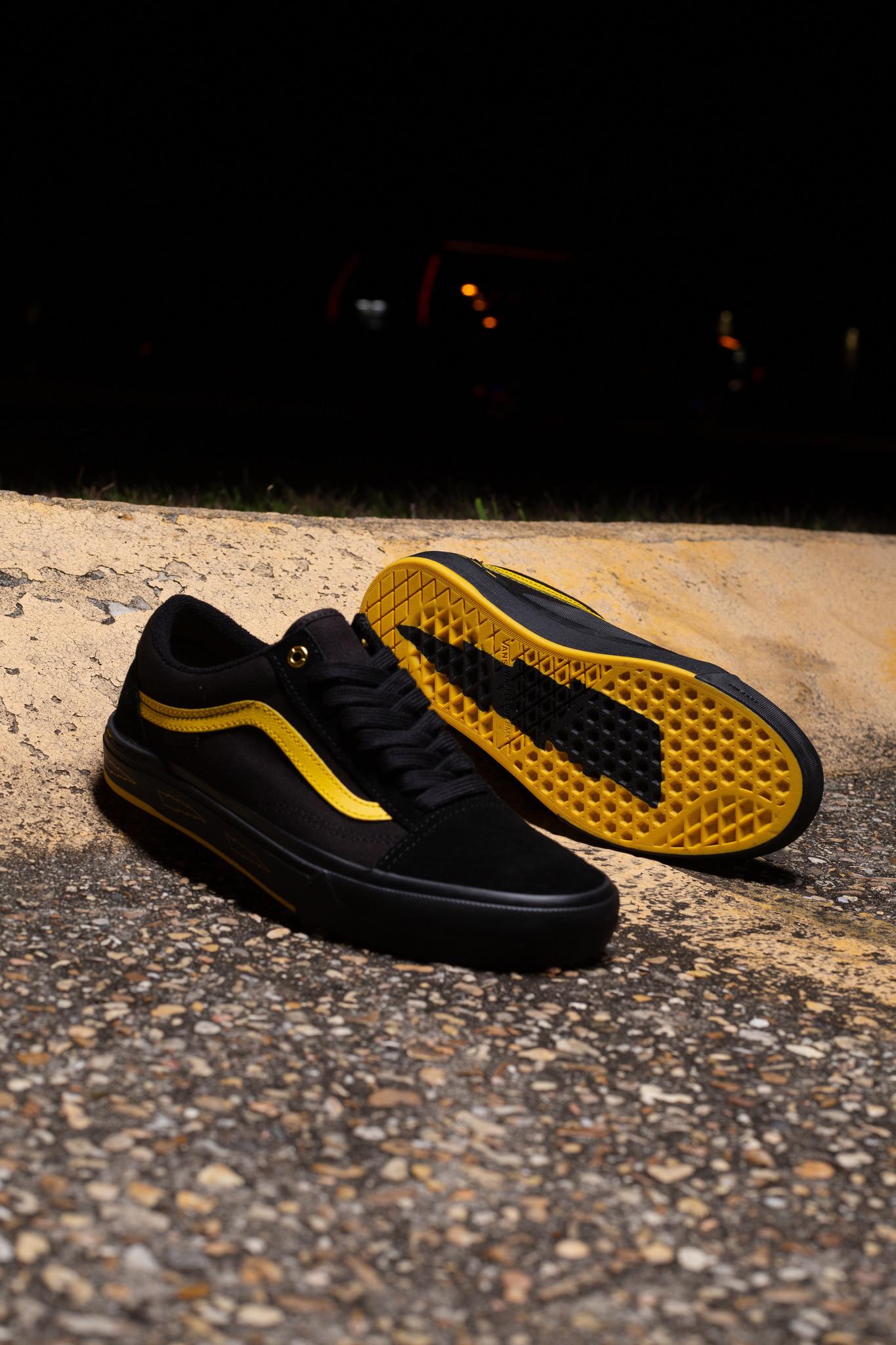 Vans x Larry Edgar Old Skool Pro BMX Black/Yellow