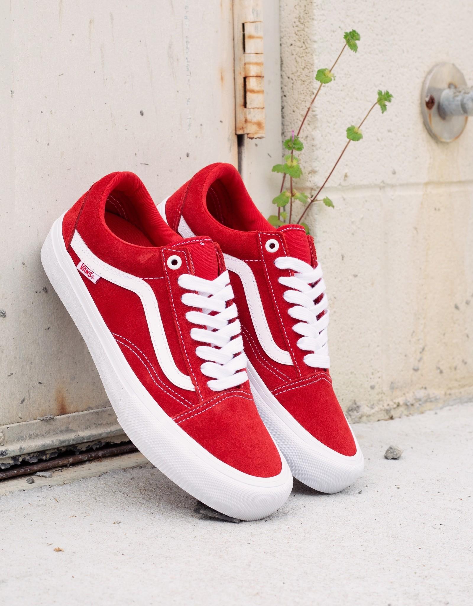 Vans Old Skool Pro red/white