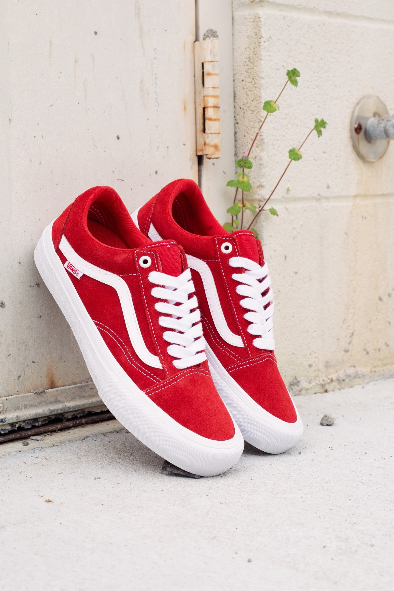 Vans Old Skool Pro red/white