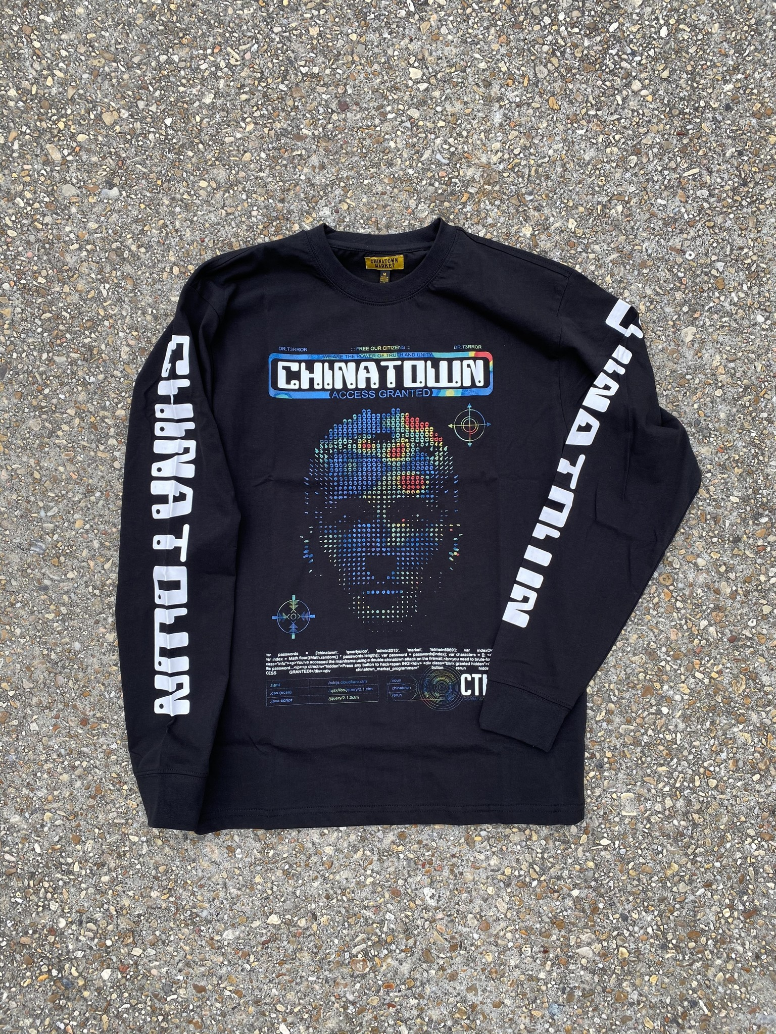 Chinatown Market AI Long Sleeve Tee