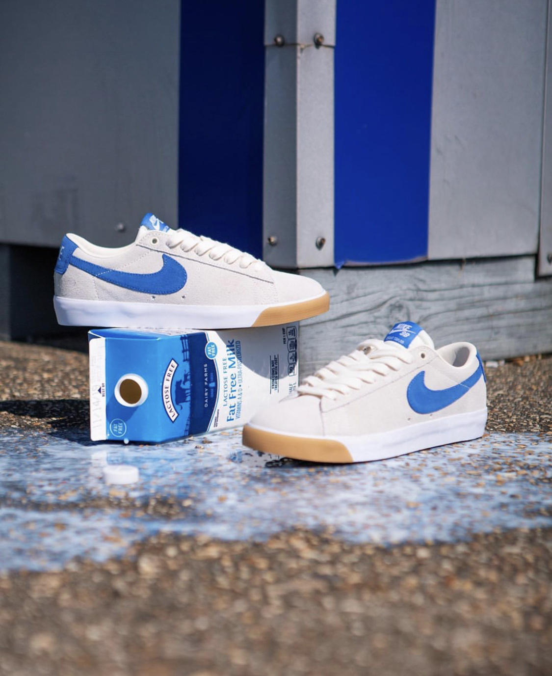 Nike SB Blazer Low 'Milk Carton'