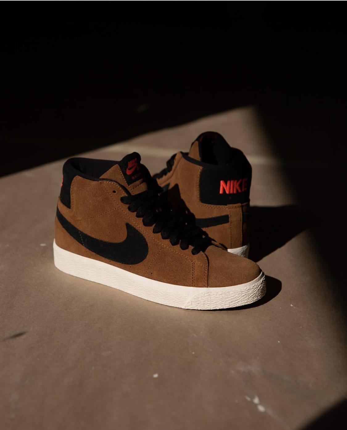 Nike SB Blazer Mid British Tan