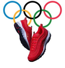Nike Air Max 97 Olympic Rings Red
