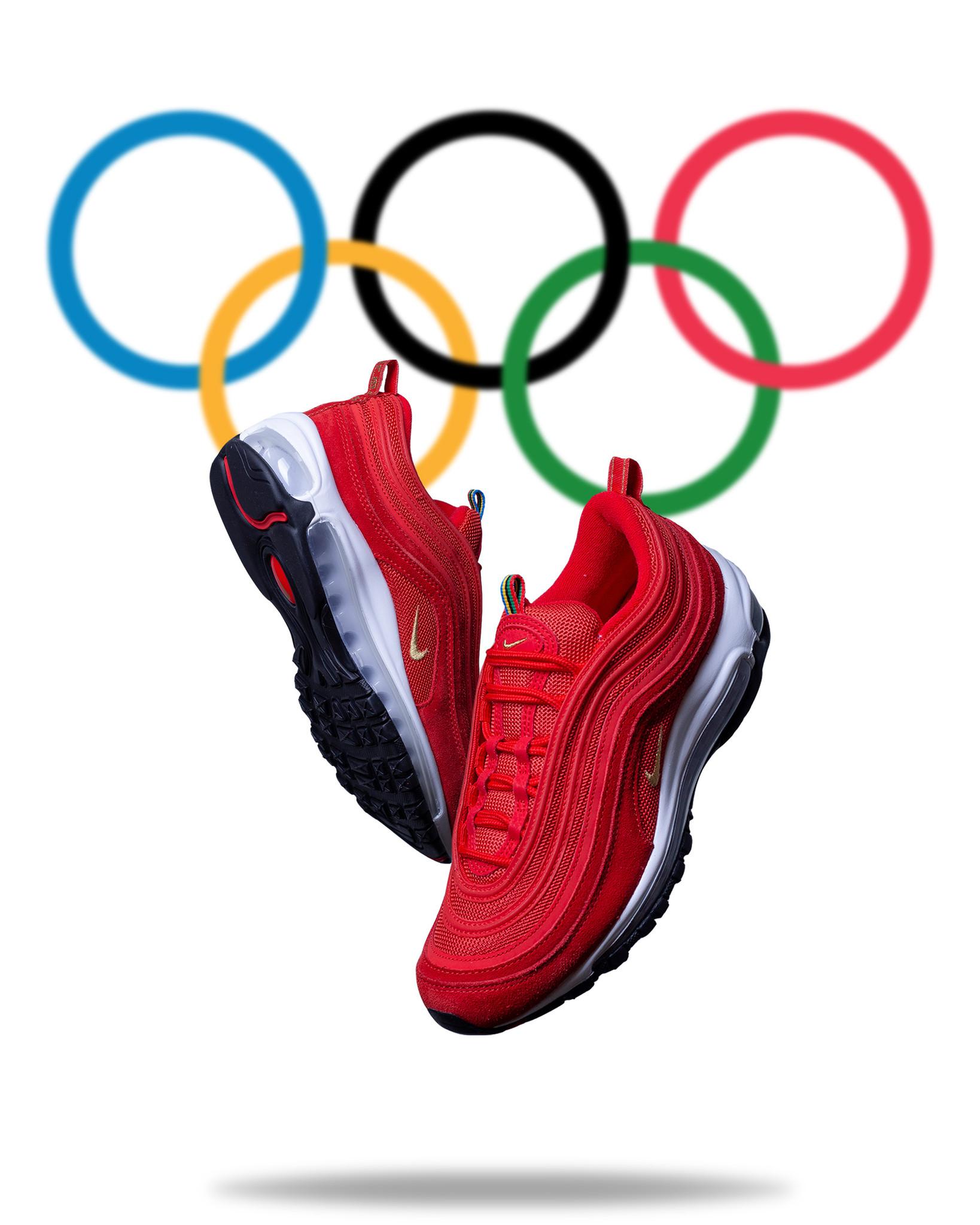 Air Max 97 Olympic Rings Red Rukus
