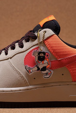 Nike Air Force 1 '07 LV8 Orewood Brown/ Laser Crimson