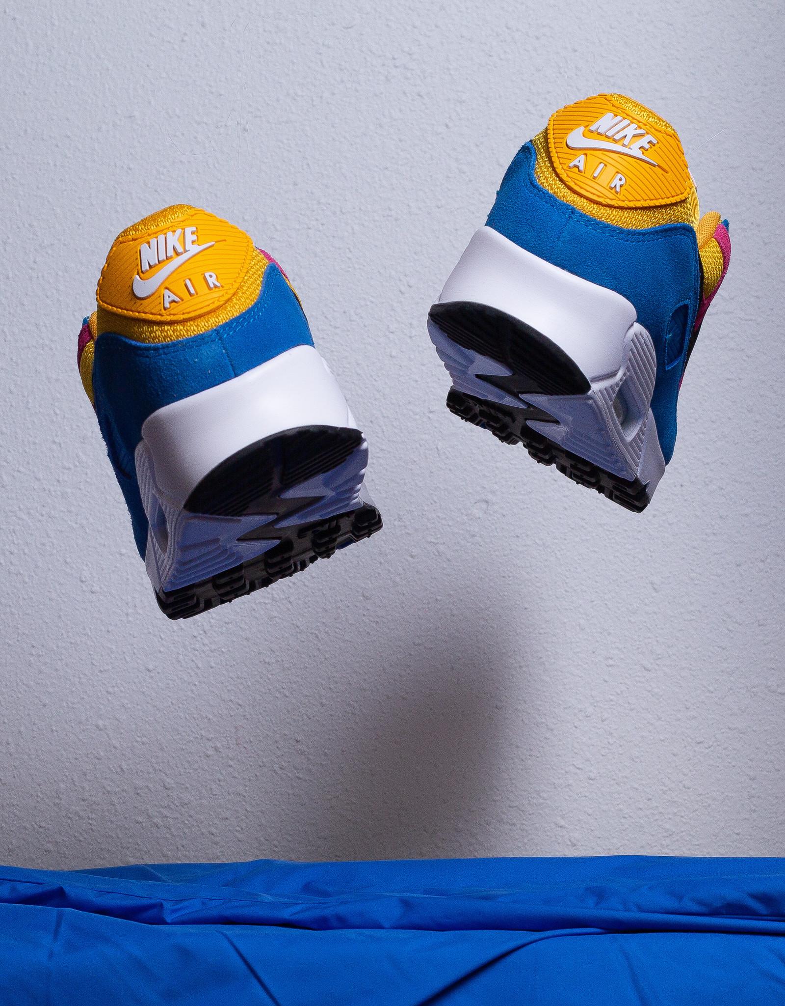 Nike Air Max 90 University Gold/Battle Blue