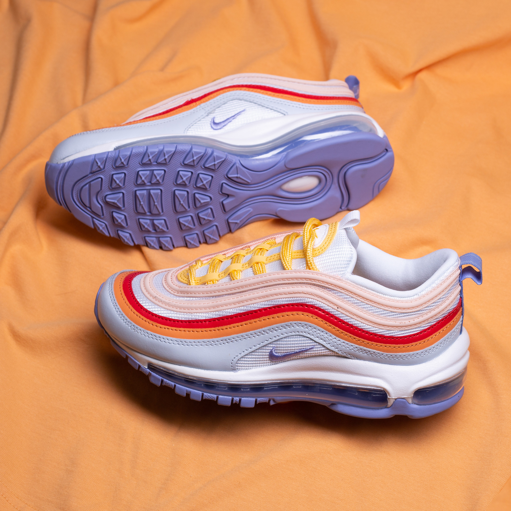 Nike Womens Air Max 97 Light Thistle/Grey