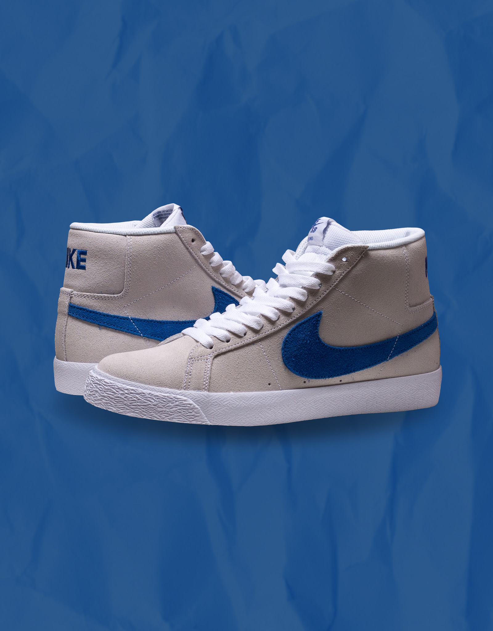 Nike SB Blazer Mid White/Royal