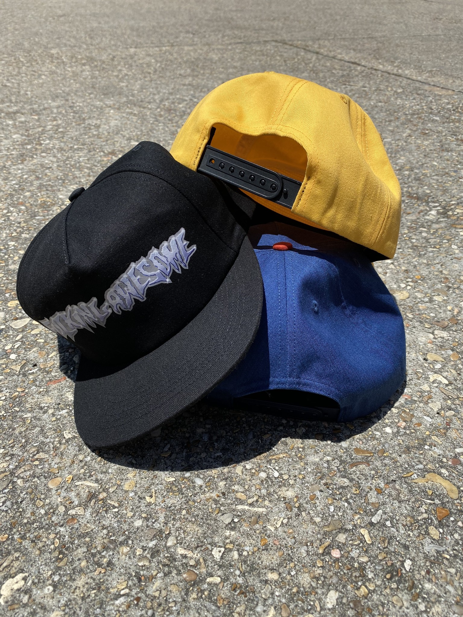 Fucking Awesome Chrome 5 Panel hat